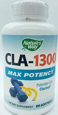 Nature's Way - CLA-1300  Max Potency - 90 Softgels