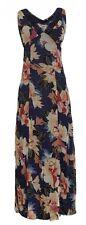 Ex M*S Per Una Purple Floral Maxi Summer Dress Size 6 - 22 (X2.18)