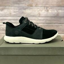 Timberland Men's Leather & Suede Black Sneaker Shoes