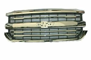 2016-2018 Chevrolet Silverado 1500 Chrome Grille 84056776 LTZ High Country OEM