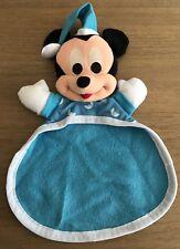 Vintage Mattel Mickey Mouse Security Blanket Acrotoys Plush