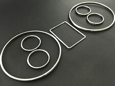 Audi A3 A4 A6 B5 C5 Chrome Cluster gauge Dashboard ring speedo S line instrument