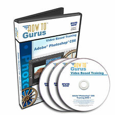 New! PHOTOSHOP CS6 Tutorial Training Course 20 hours on 3 DVDs