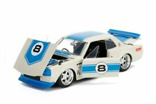 Nissan Skyline GT-R (1971) - Diecast Model Car 1/24 (White/Blue)