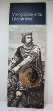 2017 King Canute £5 Commemorative Coin. BU sealed in Card