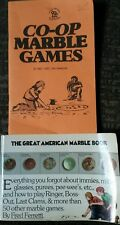 Co-op Marble Games Guide Great American Marble Book 2 Vintage Books Rare!