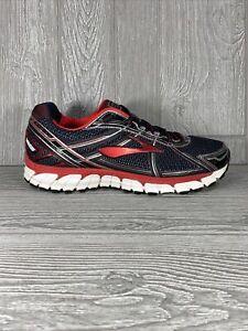 Brooks Adrenaline GTS 15 Men's Running Shoes Black Red Size 10.5 D (Medium)