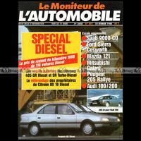 MONITEUR N°893 PEUGEOT 205 RALLYE FORD SIERRA COSWORTH AUDI 100 SAAB 9000 1988