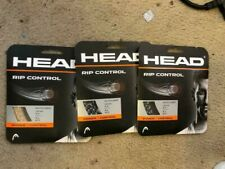Lot 3 HEAD RIP CONTROL 16g strings 2 - Black 1 - Brown