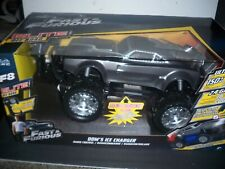 Jada R/C  Fast & Furious Dom's Ice Charger Bright Lights Up To 150 mhp 200 Feet
