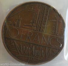 10 francs mathieu 1976 tranche A : TB : pièce de monnaie française