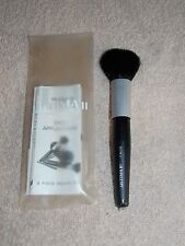 Ultima II Daily Applicator FACE BRUSH Black Pouch Natural Hair Full Size New