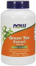 Green Tea Extract 400 mg 250 Veg Capsules - NOW Foods