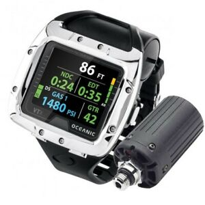 Oceanic VTX Wrist Scuba Diving Computer COMPLETE with USB and Transmitter Dive