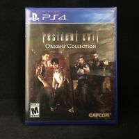 Resident Evil Origins Collection (PlayStation 4) BRAND NEW / Region Free