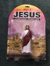 JESUS ACTION FIGURE WITH POSEABLE ARMS AND GLIDING ACTION, NEW IN PACKAGE