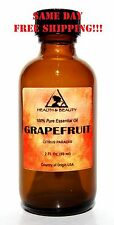 GRAPEFRUIT ESSENTIAL OIL AROMATHERAPY 100% PURE NATURAL GLASS BOTTLE 2 OZ, 59 ML