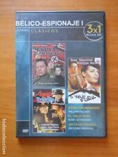 DVD CICLO BELICO-ESPIONAJE I - ESPIA POR MANDATO / EL VIEJO FUSIL / ARCO DE TRIU