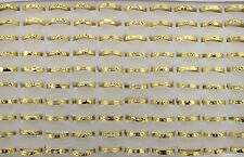 New jewelry Wholesale Lots 60pcs Charms Copper gold plated lady's Rings AH280