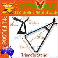 FJ0006 Motorcycle Triangle AXLE Stand Universal Dirt Bike YZ CR RM KX CRF WR DR