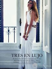 EMILIO PUCCI Reino Unido 8-USA 6-I Blanco 40 Vestido con Lentejuelas-Largo Maxi-graduación-Boda-Grecian