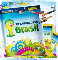 Panini WC WM BRASILIEN BRASIL 2014 – LEERALBUM EMPTY ALBUM + Tüte packet GERMANY