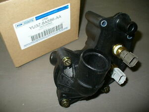 LOOK!!! OEM 1997-2001 Ford Explorer THERMOSTAT HOUSING & SENSORS (YU3Z*8A586*AA)