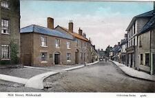 Mill Street Mildenhall unused old postcard Valentines Good