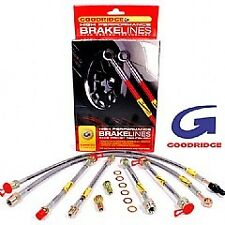 BMW E46 M3 2001-2006 Goodridge Brake Line Set Braided Lines Hoses SBW0901-4P
