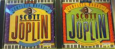 Scott Joplin CDs • Set Of 2 • Richard Zimmerman, Piano-ship free in US, ships WW
