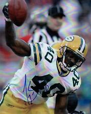 AUTOGRAPHED 8x10 Color Photo of Tony Fisher - Green Bay Packers Notre Dame Irish
