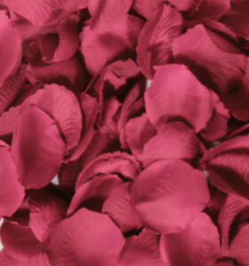 PINK ROSE PETAL FABRIC TABLE CONFETTI  WEDDING/PARTY DECORATION