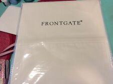Frontgate King Size Sheet Set NEW White