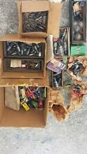 Lot of Vintage Ham Radio & TV Tubes w/Mallory FE Capacitors Electronics Manuals
