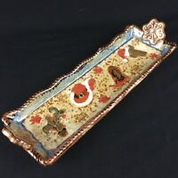 Bread Dessert Serving Tray by St. Nicholas Square Canyon Ranch Christmas Cowboy