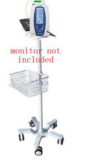 Rolling stand for Welch-Allyn Spot 420 vital  sign monitor  new (big wheel)