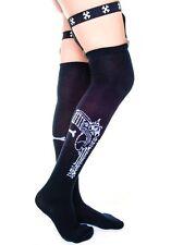Garter Suspender socks Gun Holster Pistol Over Knee Too Fast Black NEW