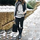 nouvelles femmes hiver fin polaire manteau chaud sans manche
