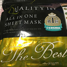 ALL in One Sheet mask 30 sheets  The Best  with Daiso Japan Silicon mask 2pcs.