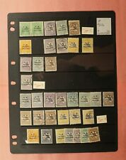 Australia Nw Pacific Islands Overprint Stamps Group Of 49 Mint & Used