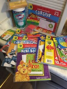 Home School Lot 1st 2nd  Grade Alphabet Subtraction Language Arts Teaching Tree