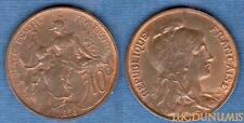 III République, 1871-1940 – 10 Centimes Daniel-Dupuis 1898 Etoile SUP +++