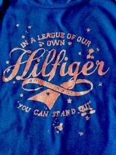 New with tags girls Genuine Tommy Hilfiger long sleeve t shirt blue size 3 years