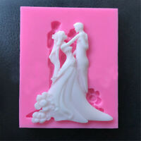 3D Silicone Fondant Mould Cake Wedding  Mold Soap Chocolate Baking Kitchen Gift