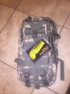 """Note:*Voodoo Tactical Level III Assault Pack ACU Multi-Cam 18""""x10""""x10"""" No Straps"""