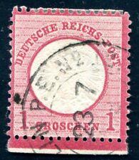 DR 1872 19 gestempelt mit UNTERRAND SELTEN ! (J9086