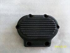 Harley transmission cover- 5 speed evolution-ribbed-wrinkle black powder coat
