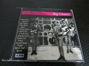 THE BEE GEES - BIG CHANCE.  1999  20 TRACK CD ALBUM