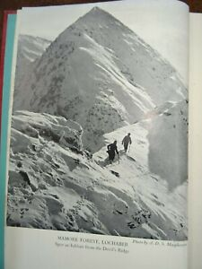 1951 UNDISCOVERED SCOTLAND by MURRAY 14 MAPS & DIAGRAMS CLIMBING BEN NEVIS  ^