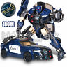 """Movie 5 Transformers Barricade 7"""" Action Figure The Knight Last Plane Gift Toys"""